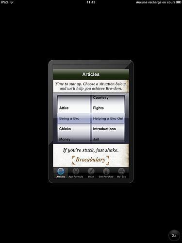 Application iPhone sur iPad