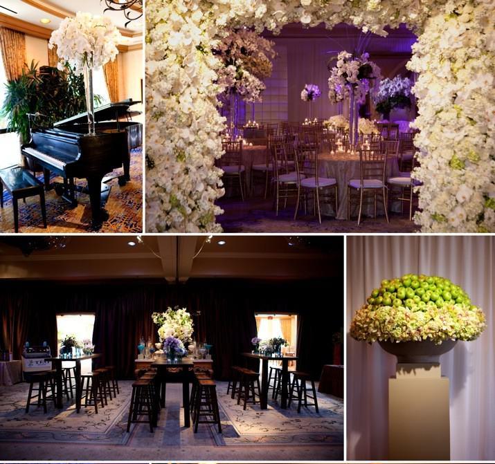 d co de mariage faite de fleurs un th me fleurs ca existe. Black Bedroom Furniture Sets. Home Design Ideas