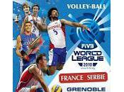 Volley-ball Ligue Mondiale France Serbie