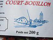 Filet colin court bouillon.