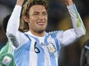 Groupe victoire l'Argentine contre Nigéria grâce Gabriel Heinze