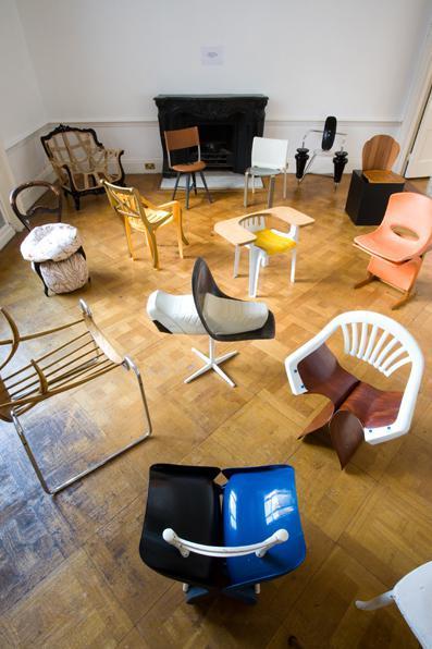 100 jours 100 chaises par Martino Gamper, blog-espritdesign.com