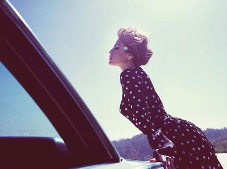 [couv] Eva Mendes pour W magazine