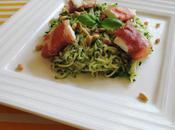 petit fraîcheur salade courgettes basilic.....