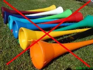 La Coupe du Monde FIFA 2010 sans vuvuzelas sur Canal+