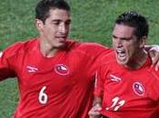Groupe victoire Chili contre Suisse grâce Mark Gonzalez