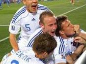Groupe défaite l'Italie buts contre Slovaquie, Italiens éliminés Slovaques qualifiés pour huitièmes finale
