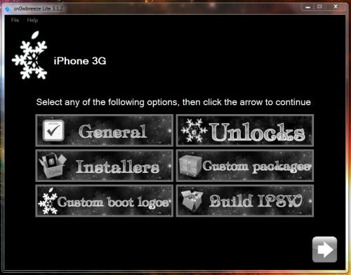 TUTO: Jailbreak iOS 4 sur iPhone 3G/3GS et iPod Touch 2G avec Sn0wbreeze Windows