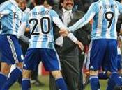 Huitièmes finale victoire l'Argentine buts contre Chili, argentins qualifiés pour quarts-de-finale