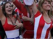Larissa Riquelme 1ere supportrice Paraguay