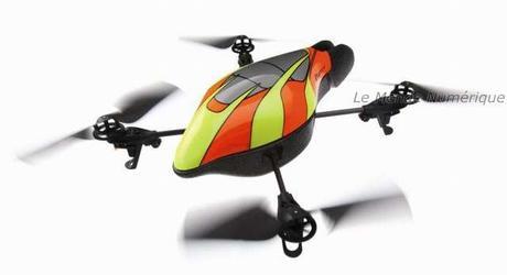 AR.Drone de Parrot, le premier quadricoptère pour les jeux vidéo et pilotable en Wi-Fi