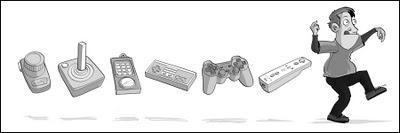 Humour - L'évolution des manettes dans les jeux vidéo...