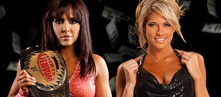 Kelly Kelly Vs. Layla : Championnat féminin de la WWE à Money In The Bank