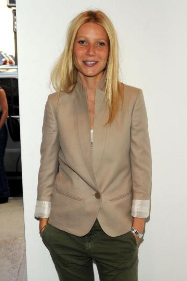 NEW YORK - JUNE 08: Actress Gwyneth Paltrow attends Stella McCartney - Spring 2011 Presentation at Gavin Brown's Enterprise on June 8, 2010 in New York City. (Photo by Andrew H. Walker/Getty Images for Stella McCartney)