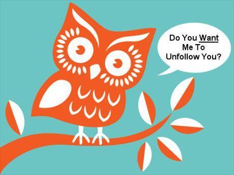 twitter unfollow Comment perdre des followers sur Twitter