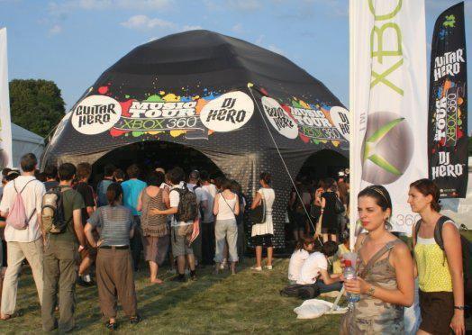 Le Hero Music Tour with Xbox 360 aux Solidays