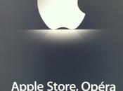 Ouverture l'Apple Store Opéra presse