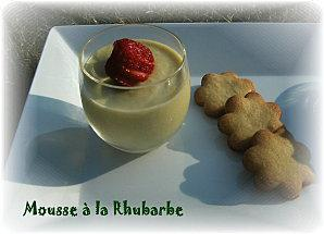 Mousse rhubarbe 2