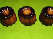 Cannelés exotiques (malibu coco citron vert)