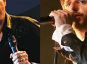 Patrick Fiori avec Johnny Hallyday