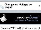 Activer partage connexion Internet avec MyWi