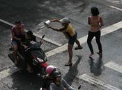 Songkran, fête tombe toujours l'eau...