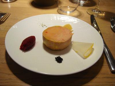 20100227 claude colliot 01 foie gras Claude Colliot, restaurant (ChrisoScope)