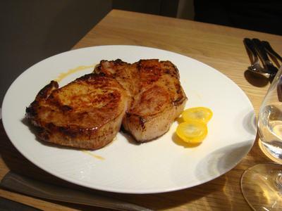 20100227 claude colliot 02 porc kumqat Claude Colliot, restaurant (ChrisoScope)