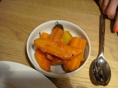 20100227 claude colliot 02 carottes Claude Colliot, restaurant (ChrisoScope)