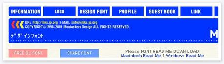 Maniackers Design Font