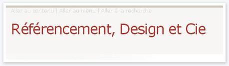Référencement, Design et Cie