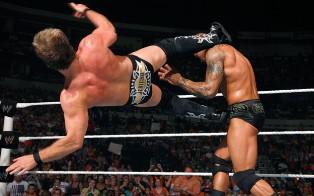Randy Orton et Evan Bourne en équipe contre Edge et Chris Jericho