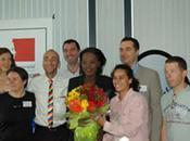 Rama Yade reçoit athlètes lesbiennes Gaygames 2010. Rencontre VIDEOS ministère sports