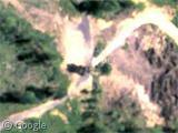 internaute trouvé visage Satan Google Earth