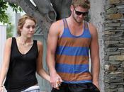 Miley Cyrus Liam Hemsworth inséparables