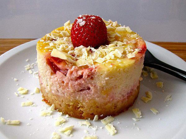 Cheesecake a la fraise (mascarpone) | À Découvrir