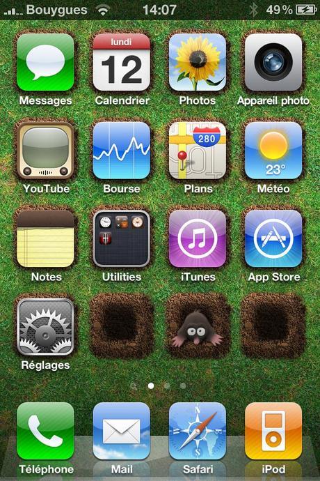 Concours: Application iPhone Icones HD – Fonds d'écran