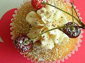 Cupcakes Estivales Cocktail Fruits Rouges Vanille