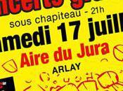 Concert gratuit juillet 2010 l'Aire Jura