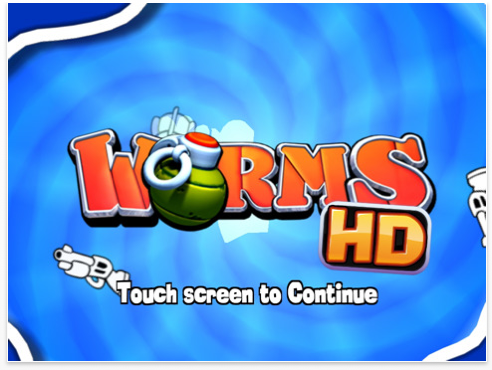 Worms disponible en version HD pour iPad