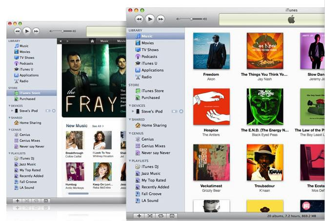 Apple : Itunes 9.2.1