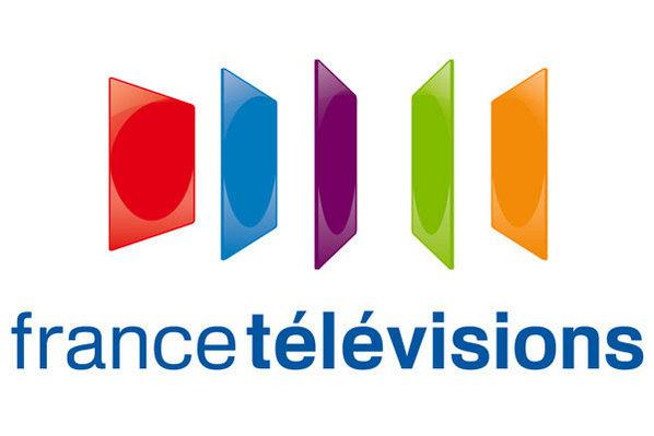 Photo : Le logo du groupe France Télévisions.
