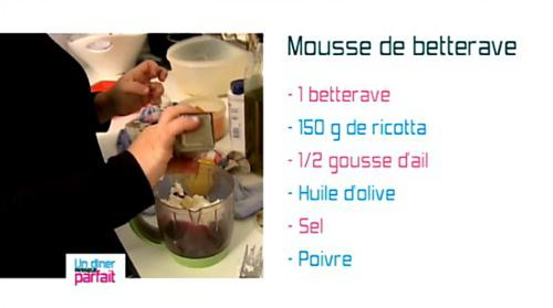 La mousse de Bettrave d'Emilie