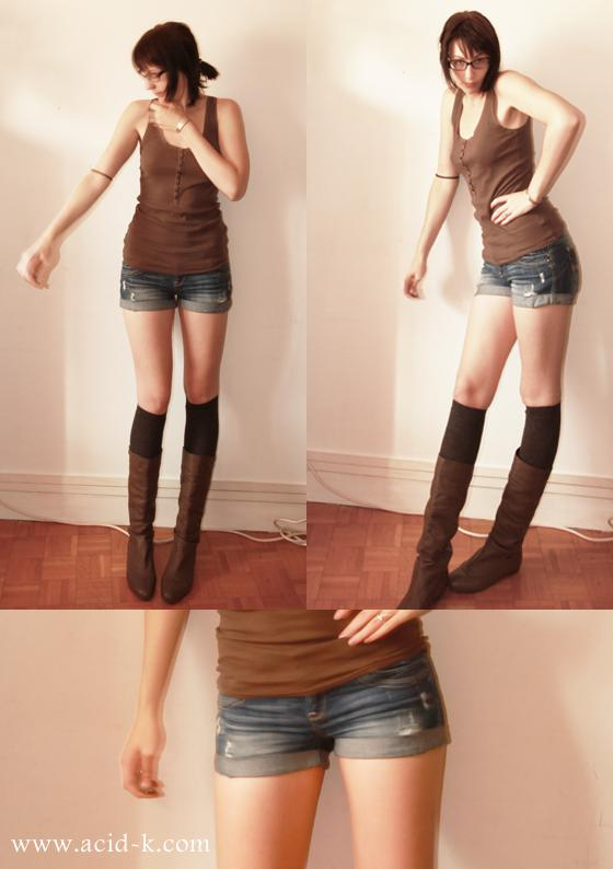 Short and Boots