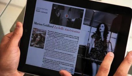 Paris Match : 47 600 téléchargements pour la version iPad