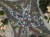 Accident de la route à Bagdad
