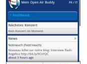 Open Buddy festivals suisse votre Smartphone Android