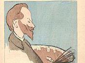 Alphonse Osbert, portrait charge Ibels