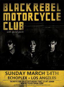 Black Rebel Motorcycle Club – Beat The Devil's Tattoo (2010)