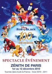 Spectacle Disney sur Glace : 100 ans de Magie